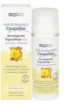 Doliva Skin in balance Coupeliac dermatologický krém proti zčervenání a kuperóze 50 ml