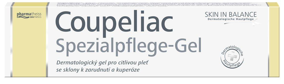 Doliva Skin in balance Coupeliac dermatologický gel proti zčervenání a kuperóze 20 ml