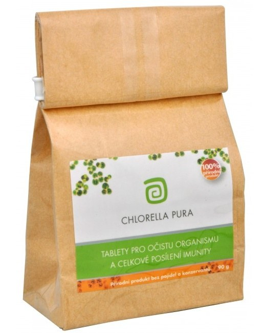 Chlorella Centrum Chlorella Pura sáček 90 g