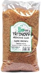 Biokamo Třtinový cukr tmavý Dark Brown 1 kg