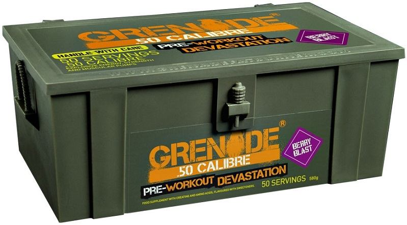Grenade .50 Calibre Pre-Loaded (berry blast) 580 g