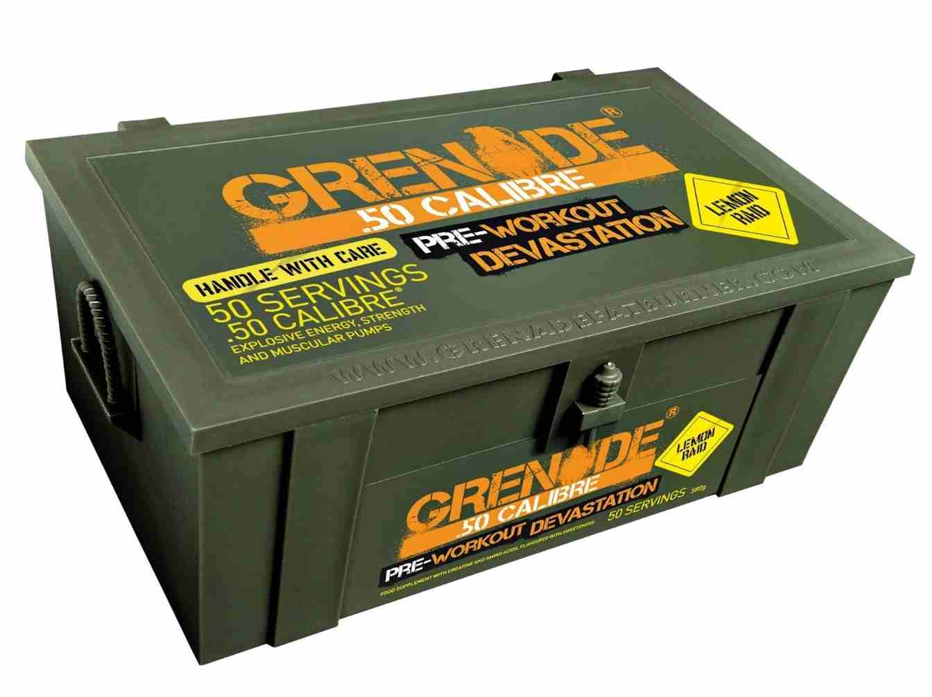 Grenade .50 Calibre Pre-Loaded (lemon raid) 580 g