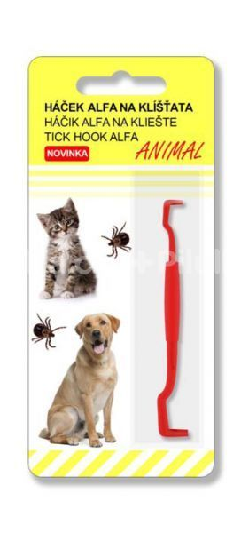 Alfa Vita Háček ALFA na klíšťata Animal 1 ks