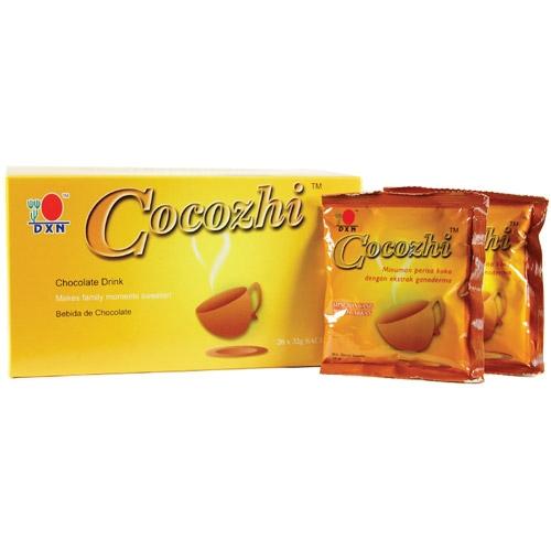 DXN Cocozhi čokoláda s ganodermou 20 sáčků x 32 g