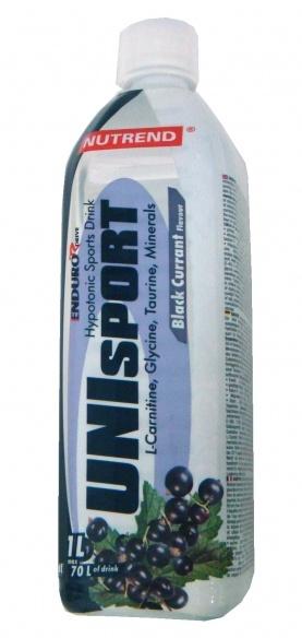 Nutrend Unisport černý rybíz 1000 ml