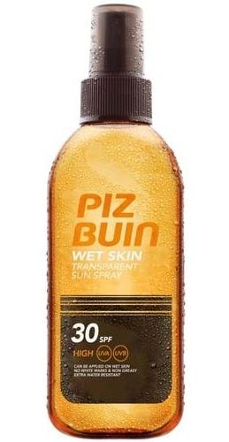 Piz Buin Transparentní sluneční sprej na vlhkou pokožku Wet Skin SPF 30 150 ml