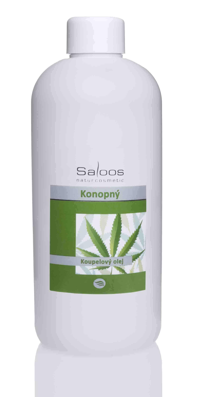 Saloos Konopný - koupelový olej Balení: 500 ml