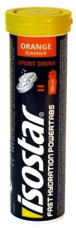 Isostar Fast Hydration Powertabs - příchuť pomeranč 120 g (10 tbl.)