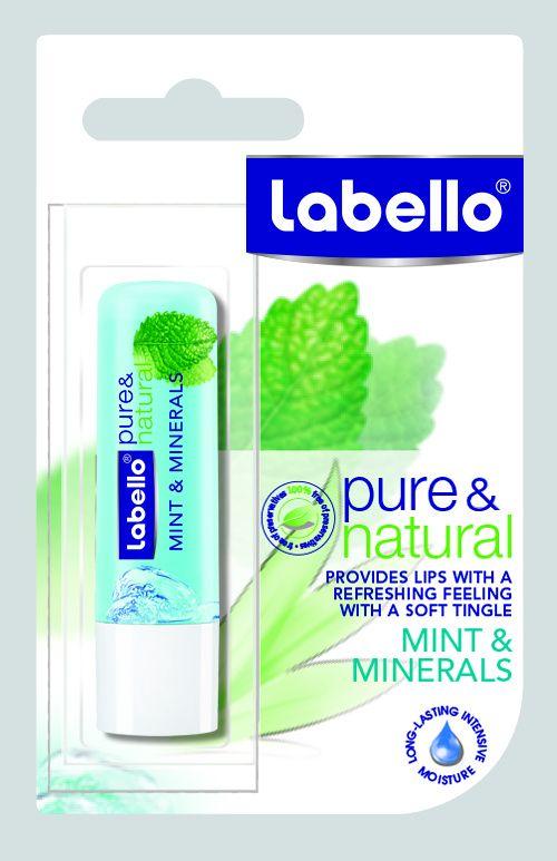 Eucerin Labello Balzám na rty Natural Mint & Minerals 4,8 g