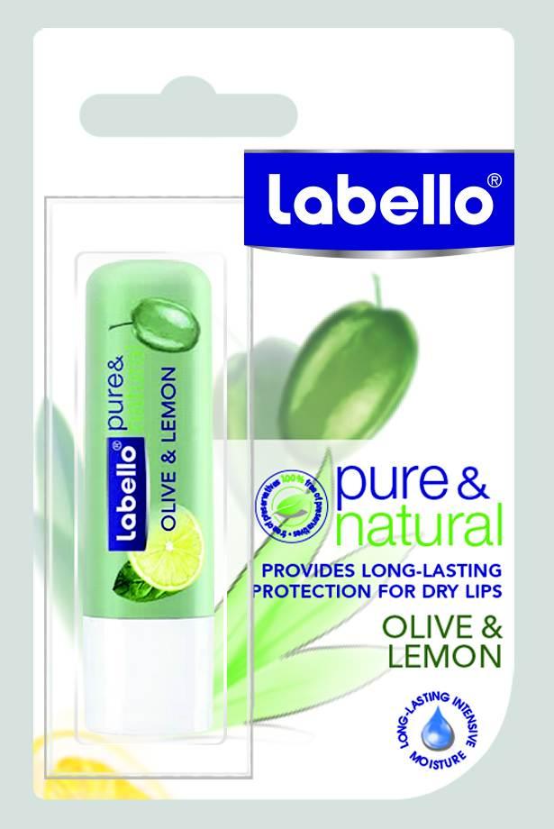 Eucerin Labello Balzám na rty Pure & Natural Olive & Lemon 4,8 g