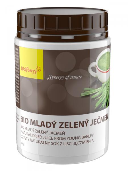 Wolfberry Bio Mladý ječmen prášek 250 g