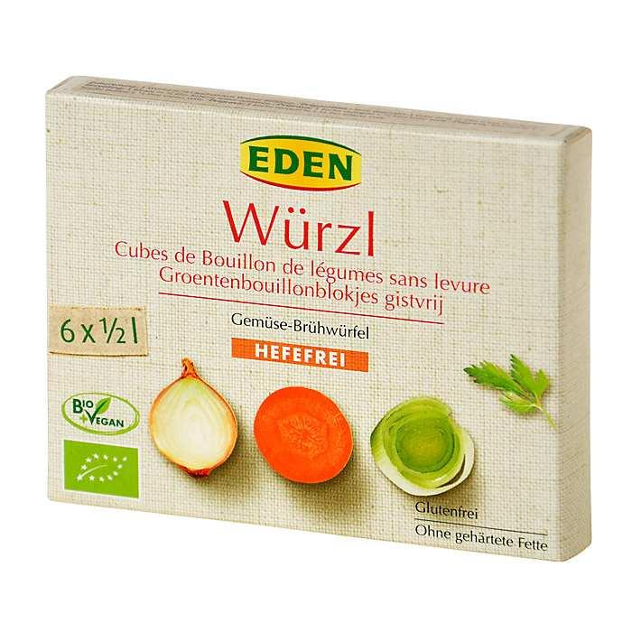 Eden Bio Wurzl Zeleninový bujon bez droždí kostky 72 g