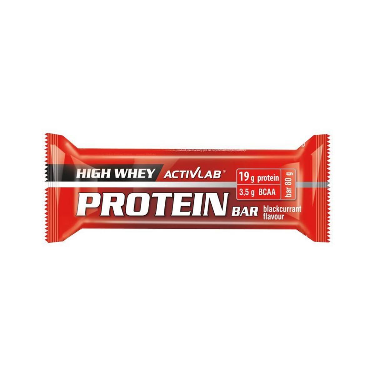 ActivLab Proteinová tyčinka černý rybíz 80 g