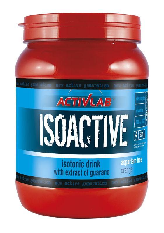 ActivLab Isoactive iontový nápoj s guaranou pomeranč 630 g