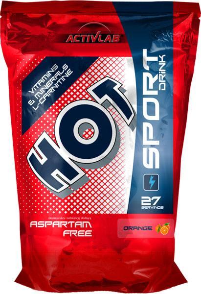 ActivLab Hot Sport izotonický iontový nápoj pomeranč 1000 g