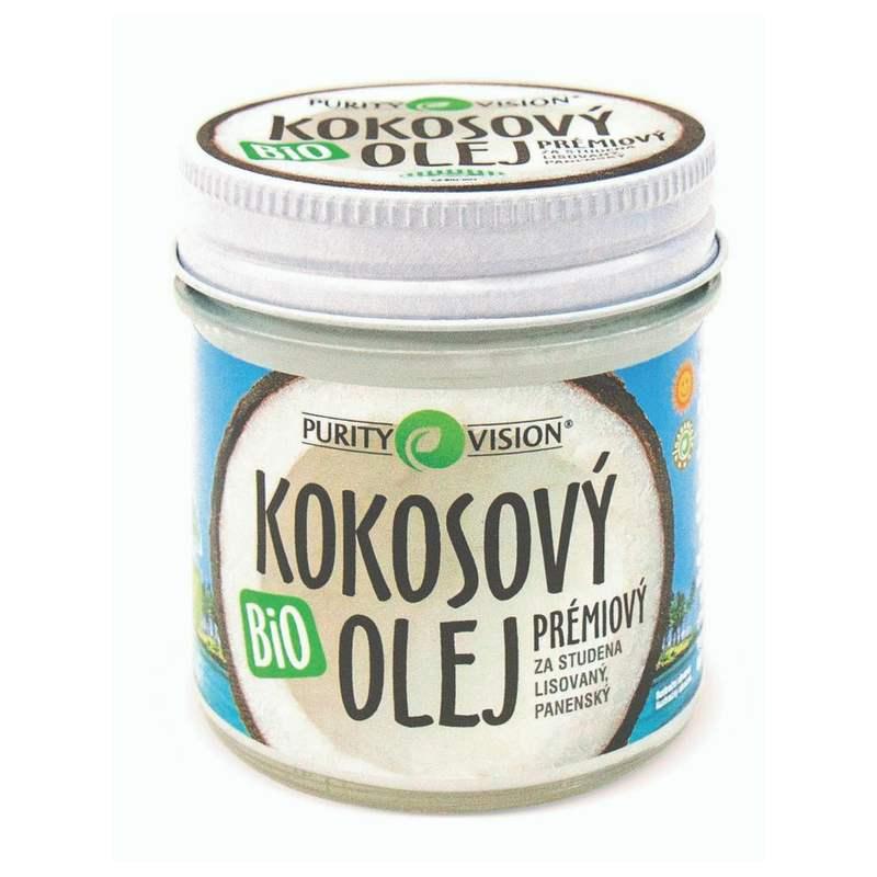 Purity Vision Bio Panenský kokosový olej lisovaný za studena 300 ml