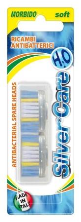 SilverCare H2O náhradní vyměnitelná hlavice - měkké 2 ks