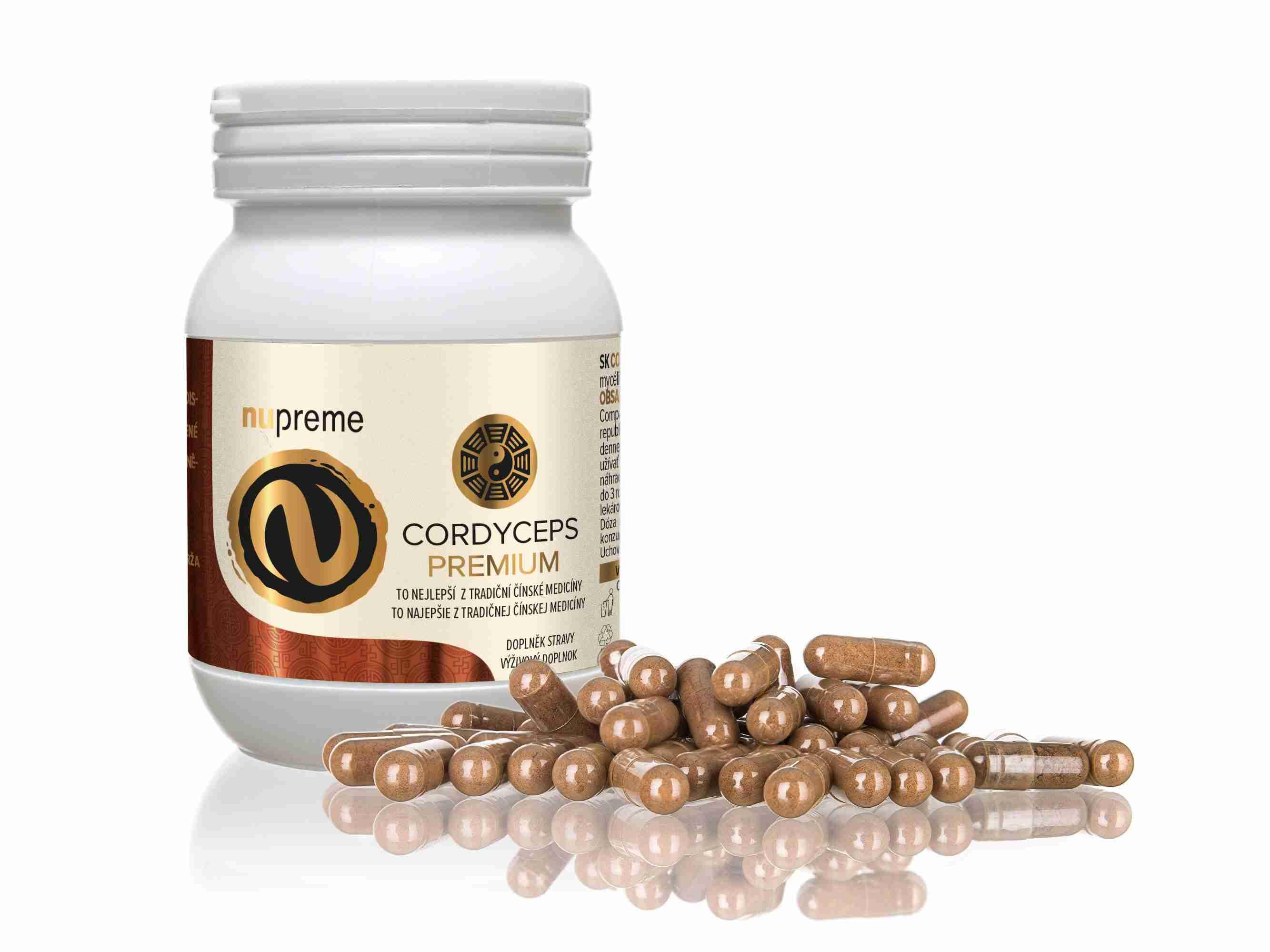 Empower Supplements ES Cordyceps CS4 100 kapslí