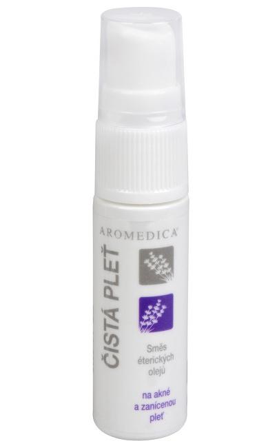 Aromedica Čistá pleť - směs éterických olejů na akné a zanícenou pleť 10 ml