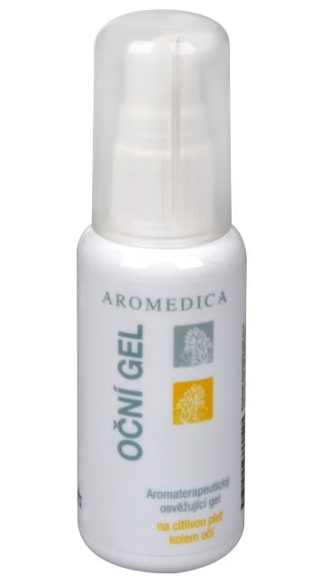 Aromedica Oční gel - aromaterapeutický osvěžující gel na citlivou pleť kolem očí