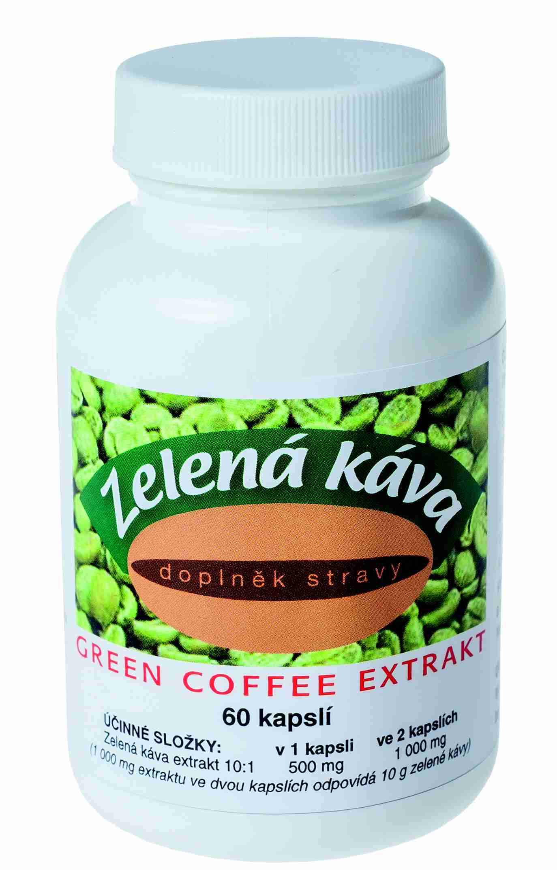 Naturvita Zelená káva 60 kapslí
