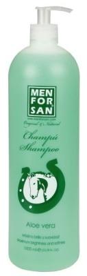 Menforsan Přírodní zklidňující, hojivý šampon s Aloe vera pro koně 1000 ml