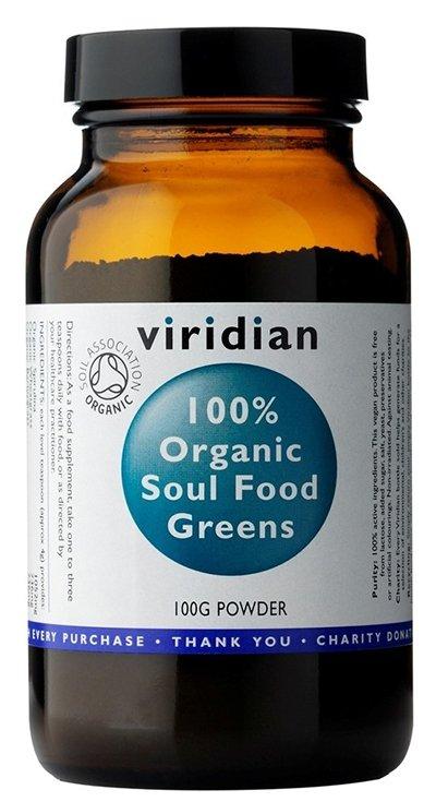 Viridian 100% Organic Soul Food Greens 100 g