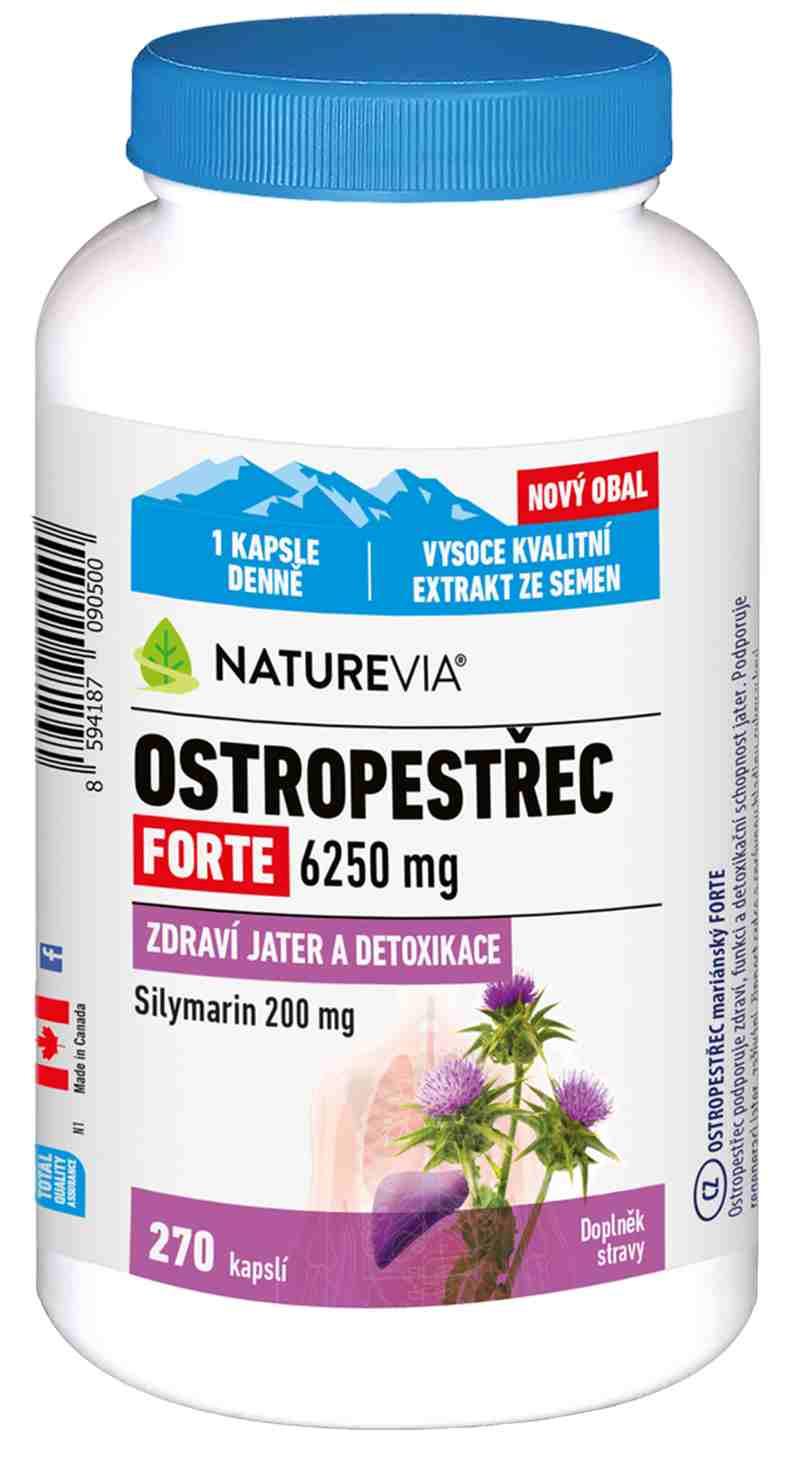 Swiss Ostropestřec mariánský 250 mg 80 kapslí