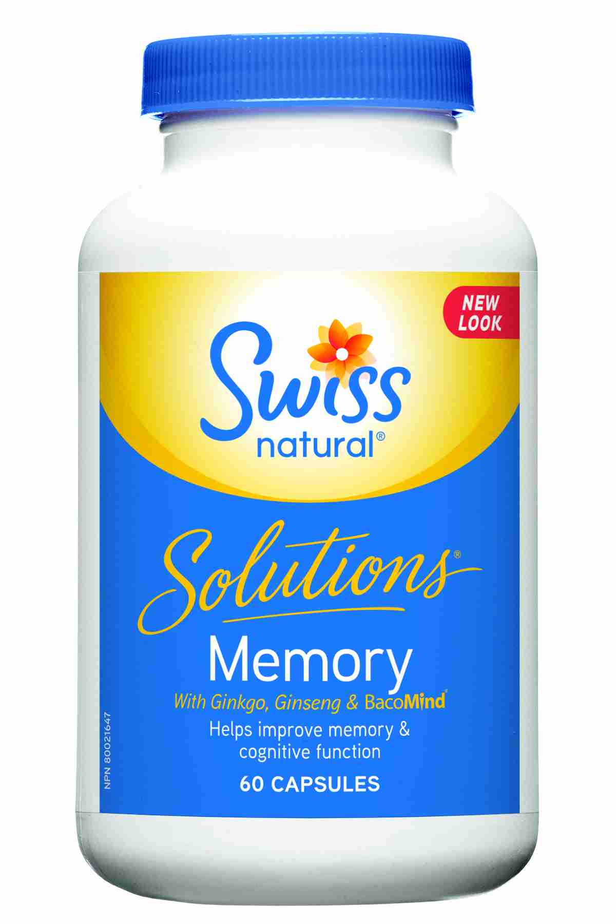 Swiss Herbal Remedies Ltd Swiss Solutions Memory 60 kapslí