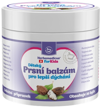 Herbamedicus Dětský Prsní balzám pro lepší dýchání 50 ml