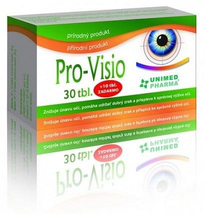 Unimed Pharma Pro-Visio 30 tbl. + 10 tbl. ZDARMA