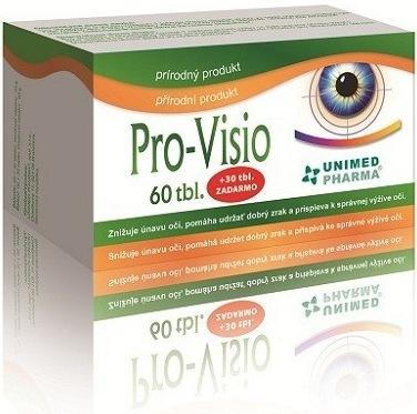 Unimed Pharma Pro-Visio 60 tbl. + 30 tbl. ZDARMA