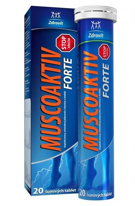 NP Pharma Ostrow Mazowiecka Zdrovit Muscoaktiv Stop křečím Forte šumivé tablety 20 tbl.