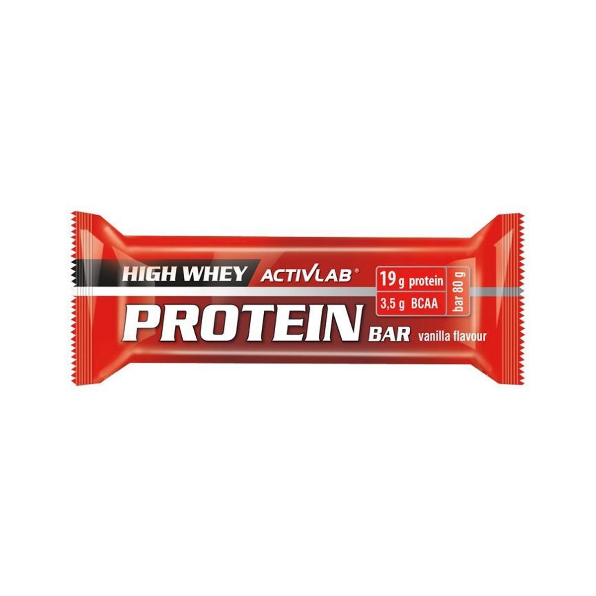 Regis, Polsko ActivLab Proteinová tyčinka vanilka 80 g