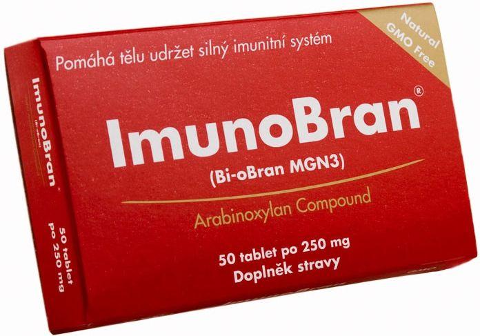 Daiwa Pharmaceutical Co. Ltd. ImunoBran 250 (Bi-oBran MGN3) 50 tbl.