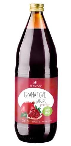 Allnature BIO Granátové jablko Premium 1000 ml