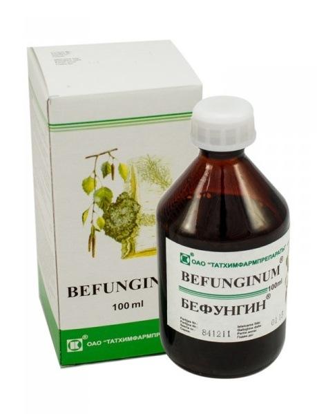 Befungin 12/18 - extrakt z Čagy 100 ml