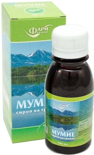 Farmgrup Sirup Mumio s bylinami 100 ml