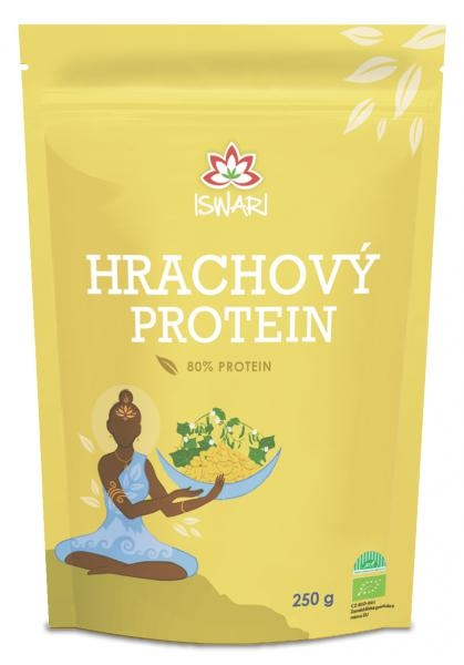 Iswari Bio Hrachový protein 80% Raw 250 g