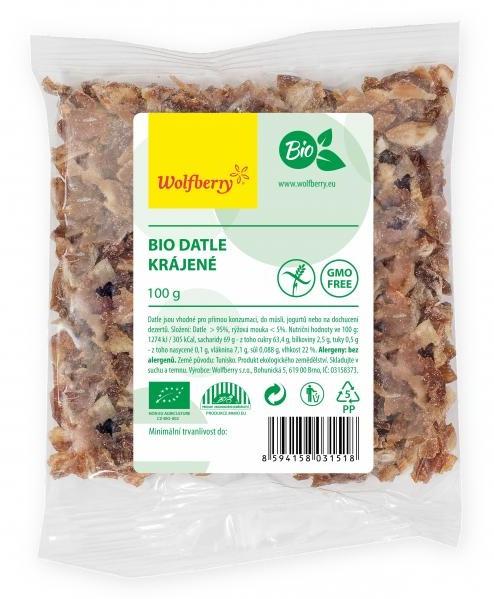 Wolfberry Bio Datle krájené 100 g
