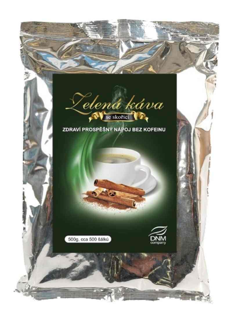 DNM Zelená káva se skořicí 500g