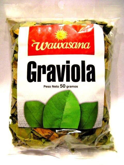 Wawasana-Aurandina s.a.c. Lima Peru Aurandina Graviola bylinný čaj 50 g