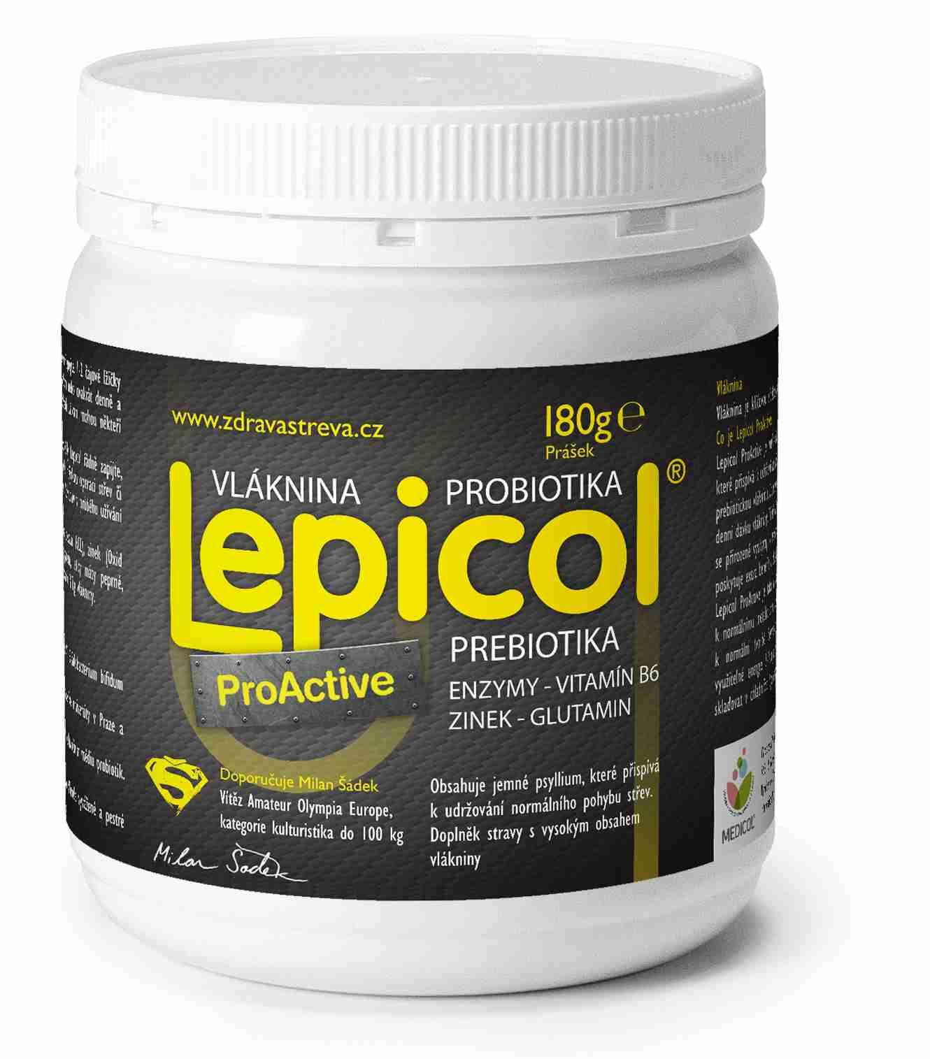 PROBIOTICS INTERNATIONAL LTD. Lepicol ProActive 180 g