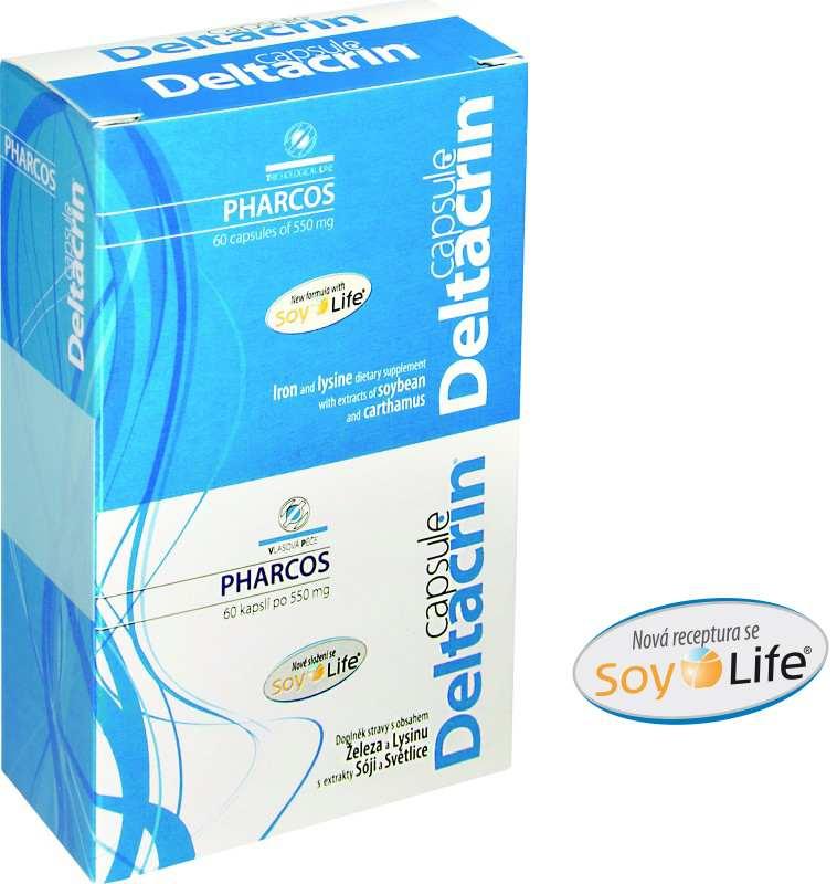 Pharcos Deltacrin capsule 60 kapslí