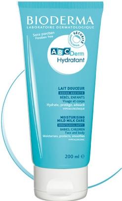 Bioderma Hydratant tělové mléko ABCDerm Hydratant 200 ml