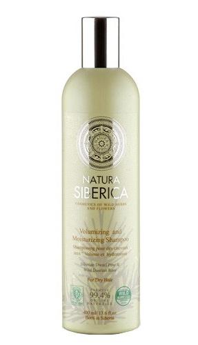 Natura Siberica Šampon pro suché vlasy - objem a hydratace 400 ml