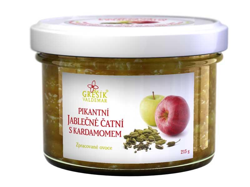 Grešík Pikantní jablečné čatní s kardamomem 215 g