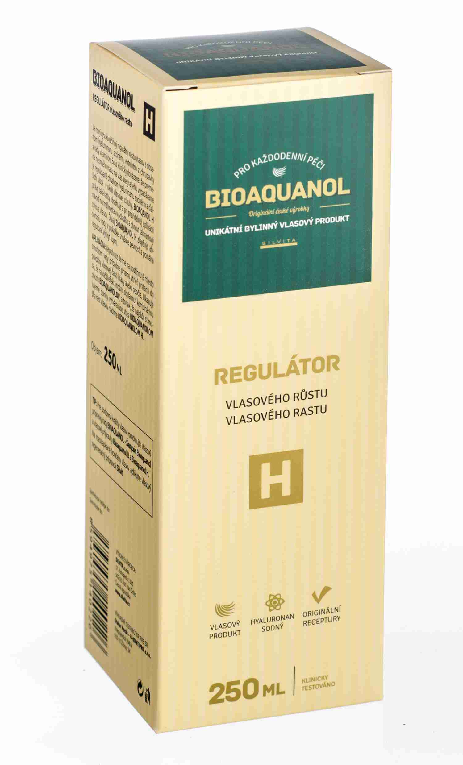 Silvita Bioaquanol H regulátor vlasového růstu 250 ml