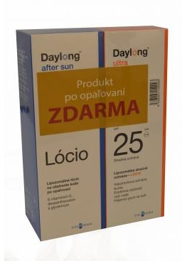 Spirig AG, Egerkingen Daylong ultra SPF 25 200 ml + After sun Locio 200 ml ZDARMA