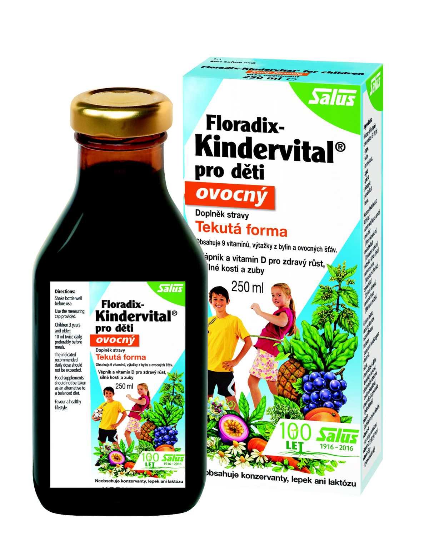 Salus Haus Floradix Kindervital pro děti ovocný 250 ml